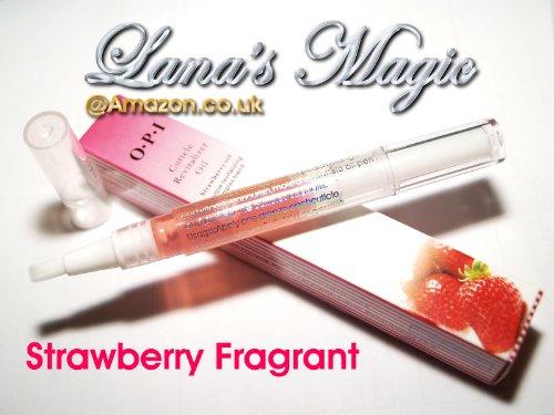 Lana's Magic Nagelhaut-Revitalizer-Öl - Erdbeerduft -
