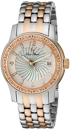 Lucien Piccard Womens Analogue Quartz Watch with Stainless Steel Strap LP-40029-SR-22-MOP