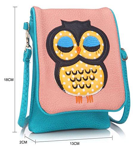 Big Handbag Shop - Borsa a tracolla bambina (beige)