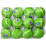 SBS Super Cricket Tennis Ball Light Weight (Green 12Pcs)