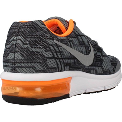 Nike Air max sequent print (gs) - Scarpe da corsa Grigio
