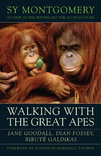 Walking with the Great Apes: Jane Goodall, Dian Fossey, Biruté Galdikas (English Edition)