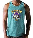 Shirt Happenz Vikings American Football The Vikes Minnesota Tanktop Herren...
