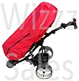 Red Waterproof Extra Large Golf Bag Rain Protection Cover Cape