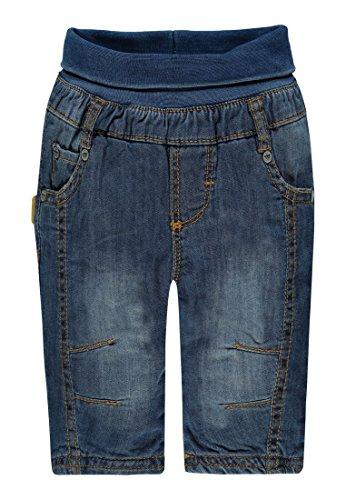 Steiff Jungen Jeanshose Hose Jeans, Blau (Dark Blue Denim 0012), 62