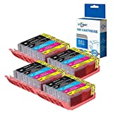 ECSC kompatibel Tinte Patrone Ersatz für Canon Pixma iP7200 iP7250 iP8700 iP8750 iX6850 MG5450 MG5450S MG5550 MG5600 MG5650 MG6350 MG6450 MG6600 MG6650 MG7150 MG7500 MG7550 MX725 MX920 (20-Pack)