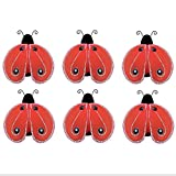 Ladybug Decor 2 Red Black Mini (X-Small)...