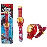 Reloj para niños, Juguete transformado de Maravilla, Reloj a Prueba de Golpes para niños, niños y niñas. (Iron Man)