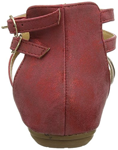 Joe Browns Arabian Sunset Sandals, Sandali Alla Schiava Donna Red (Red/Gold)