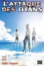 L'Attaque des Titans T22 de Hajime Isayama