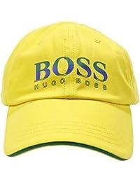 Hugo Boss Bambino Cappello Brasile Giallo con visiera FIFA World Cup 2018 Mod. J21191ZA5