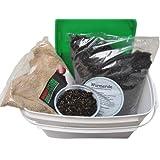 Regenwurmkokons Zuchtset - 1000 Stück, Angelwürmer, Futterwürmer, Kompostwürmer, Gartenwürmer