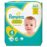 Pampers Premium Protection Größe 4, 24 Windeln