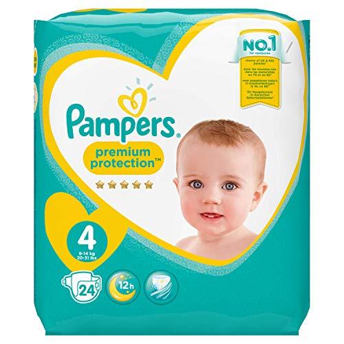 Pampers Premium Protection Größe 4, 24 Windeln