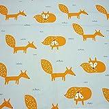 Ein Stück 50 cm * 160 cm Cartoon Fox Baumwollgewebe,patchwork stoffe,baumwollstoff meterware,stoffe patchwork stoffpaket