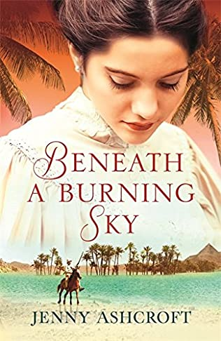 book cover of Beneath a Burning Sky
