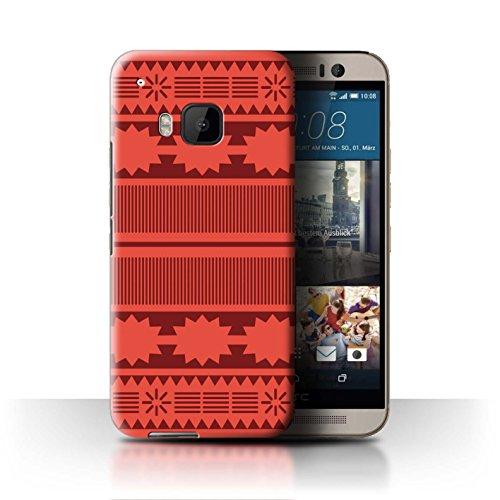 Stuff4® Hülle/Case für HTC One/1 M9 / Aztek/Prinzessin Kleid Muster/Karikatur Polynesische Prinzessin Kollektion M9 Mobile