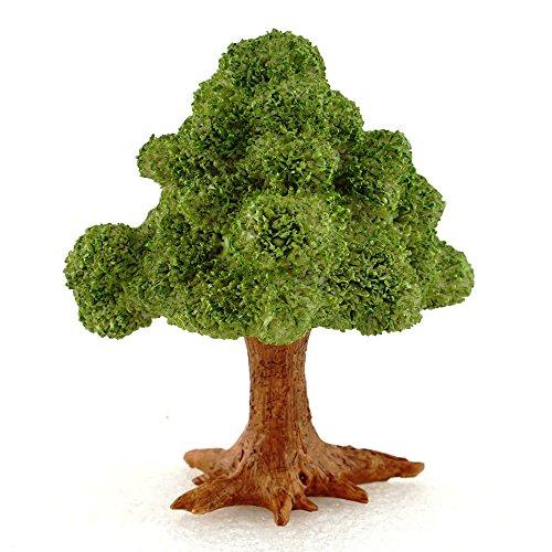 Top Collection Miniatur Fairy Garden & Terrarium Mini grünen Baum Decor mit Plektrum, klein