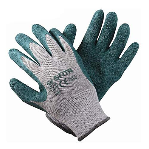 CJJ Silikon-Arbeitshandschuhe, rutschfeste Hochtemperatur-Verschleißfeste Fünf-Finger-Handschuhe Für Nitrilmaterialien, Geeignet Für BAU, Gartenarbeit, Outdoor, Ofen, Mikrowellenofen