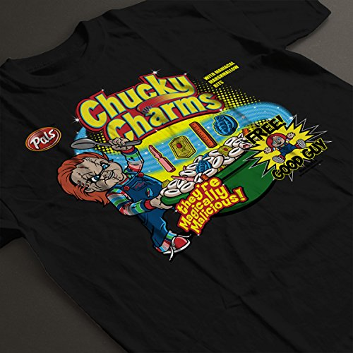 Chucky Charms Childsplay Serial Women's T-Shirt Black