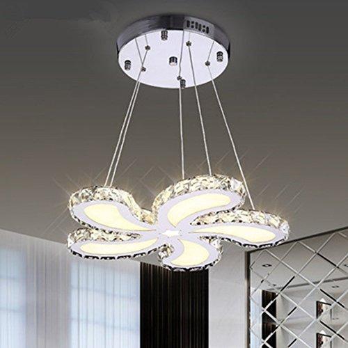 Preisvergleich Produktbild Kristall Deckenleuchte Einfache Moderne LED Kristall Kronleuchter Wohnzimmer Kronleuchter Restaurant Lampe Schlafzimmer Licht Kann Leistung 48W-220V Anpassen