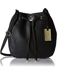 Cathy London Women's Sling Bag, Material- Synthetic Leather, Colour- Black