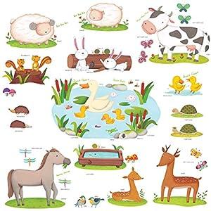 Wandsticker Kinderzimmer Tiere Gunstig Online Kaufen Dein Mobelhaus
