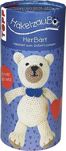 Häkelzaubär Set Herbärt: Instructions and Material for a charming Baby Bear Cub por Jennifer Stiller