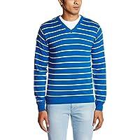 People Men's Cotton Sweater (8903880689810_P10101188000314_XX-Large_Blue)