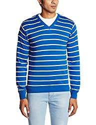People Mens Cotton Sweater (8903880689810_P10101188000314_XX-Large_Blue)
