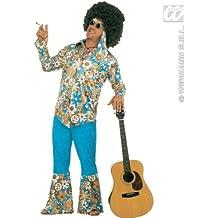 Sancto - Disfraz de hippie años 60s para hombre, talla 60 (4936K)