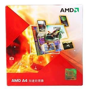 AMD A4-3400 CPU pour PC Socket FM1 2,7 GHz 2 coeurs