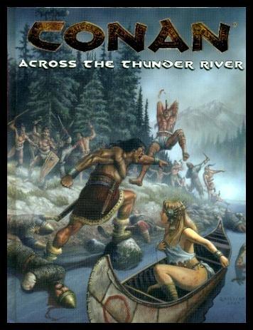 Conan: Across the Thunder River (Conan Series) par V. Darlage