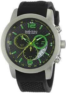 Nautec No Limit Herren-Armbanduhr Cobra CO QZ/RBSTSTCA-GM