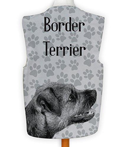 Kostüm Border Terrier - NEUHEIT Weste Kostüm Spass Legere Hirnrissig Party Hund Anzeigen Border Terrier - Mehrfarbig, XL