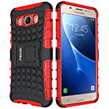 Pegoo Galaxy J5 Hülle (2016),Schutzhülle für Samsung Galaxy J5 (2016) 5.2 Zoll (Rote)