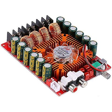 TD A7498E 160W + 160W alta potencia Tablero del Amplificador de Potencia Digital Clase DC 15-36V Doble Canales AMP de Audio Estéreo