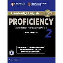 Cambridge English Proficiency 2 Student's Book with Answers with Audio: Authentic Examination Papers from Cambridge English Language Assessment (CPE Practice Tests) by Victorian Association for Environmental Education (21-May-2015) Paperback