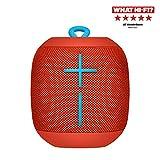 Ultimate Ears WONDERBOOM Altoparlante Bluetooth Portatile, Impermeabile, Suono a 360°, 10 Ore di Autonomia, Collega Due Altoparlanti Per Un Suono Più Potente - Rosso Fireball