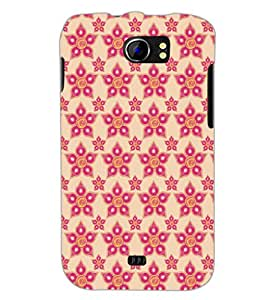 PrintDhaba Pattern D-5254 Back Case Cover for MICROMAX A110 CANVAS 2 (Multi-Coloured)