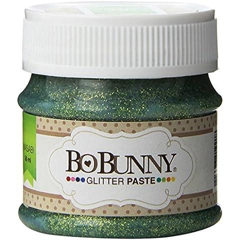 Bo Bunny Pasta gel Glitter-Wasabi Dot Double