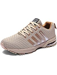 64a36cc71bb8 Chaussures de Sport Basket Homme Tennis Lacet Femme Fitness Entraînement  Air Sneakers 3 cm Athlétique 36