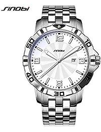OGYA SINOBI Top Brand Luxury Stainless Steel Men's 10Bar Waterproof Watch
