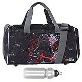 LEGO Sporttasche Kinder Sports Bag Kindertasche Tasche 20026 + Trinkflasche (Star Wars Kylo Ren 1828)