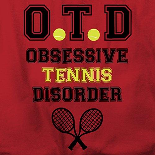 OTD Obsessive Tennis-Störung Herren T-Shirt Pixel Pink