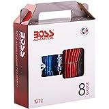 Boss Audio Systems KIT2 - Kit de coche (Negro, Azul, Rojo)