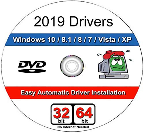 Windows 2019 Treiber DVD Software für Windows 10, 8.1, 8, 7, Vista, XP in 32/64 Bit für die meisten PCs/Laptops Acer, Dell, HP, IBM, Gateway, Toshiba, Lenovo, Asus, E-Machines und vieles mehr Emachines Dell Pc