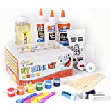 DIY Slime Set By Mr. Emc2, 2nd Edition   BRAND NEW Slime Starter Kit For Boys Girls   All Inclusive W Easy NO FAIL Instructions And Slime Stuff Supplies   4+ Different Slime Recipes, Slime Making Kit