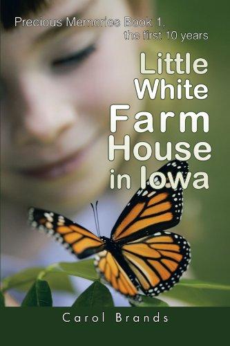Little White Farm House in Iowa Cover Image