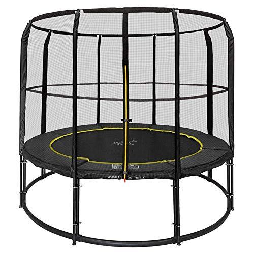 Magic Circle Pro Black Trampolin 366 cm mit sicherheitsnetz Schwarz